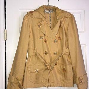 Jolt Yellow Coat with Hood!